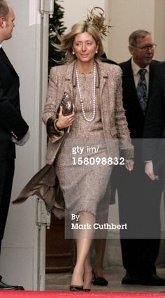 Jan 21, 2006 Crown Princess Marie Chantal Of Greece Attends  The Christening Of Crown Prince Frederik & Crown Princess Mary Of Denmark'S Son Christian Valdemar Henri John At The Palace Chapel, Christiansborg Palace, Followed By A Reception In The Great Hall.