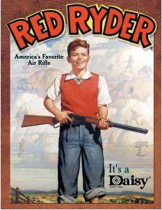 Daisy Red Ryder - Boy Tin Sign