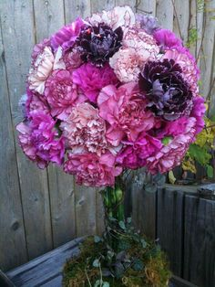 Carnations are long lasting, have a nice fragrance and come in some amazing colors that are all natural.