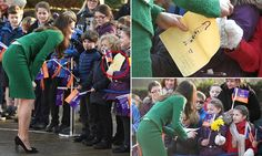 The Duchess of Cambridge, 35, visited East Anglia Children's Hospice (EACH's) centre in the Norfolk village of Quidenham to meet children with life-threatening conditions.