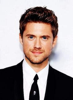 Aaron Tveit. If you have not seen his face already, you're welcome.