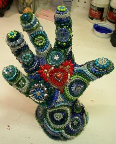 Heart in hand by Glass Garden Creations / Sharon Kelly, via Flickr