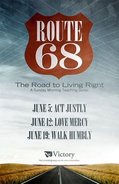 Route 68 Poster by 7ulio.com, via Flickr