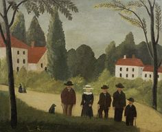 Henri Rousseau, Les promeneurs