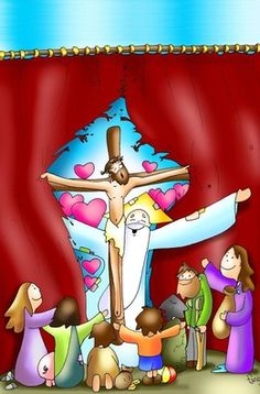 ANNO B My Jesus, Jesus Christ, Religion Catolica, Velasco, Bible Stories, Cristiano, Sunday School, Cartoon, Illustration