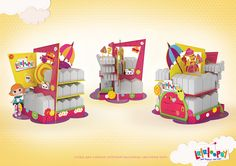 Point of Purchase Design/POP/POSM/LALALOOPSY on Behance