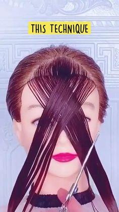 Hair Cutting Videos, Hair Cutting Techniques, Hair Videos, Cutting Hair, Hair Color Techniques, Medium Hair Styles, Curly Hair Styles, Natural Hair Styles, Great Hair