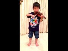 Vivaldi violin concerto in A Minor 1st movement RV 356 [Suzuki Violin School Volume 4]; using 1/16 size violin. See more of this young violinist #from_AidanF