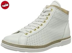 1-25210-28 Schuhe Damen Halbschuhe Schnürschuhe High-top Sneaker, Schuhgröße:41;Farbe:Blau Tamaris