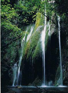 Salt del portuguès (Garrotxa) Country, Waterfall, Barcelona, Salt, Porn, Camping, In This Moment, Outdoor, Waterfalls