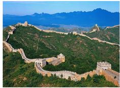 History:Especially famous is the wall built between 220–206 BC by the first Emperor of China, Qin Shi Huang.  Little of that wall remains. Since then, the Great Wall has on and off been rebuilt,   Especially the walls in the northern part of China built by the states of Qin, Zhao and Yan,.
