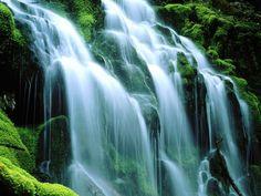 Dreamhealer Waterfall visualization.