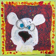 Cassie Stephens: In the Art Room: Kindergarten Creates Arlo Needs Glasses