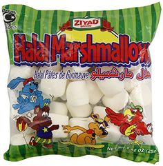 Ziyad Halal Marshmallows- 2 Pack of 8.82 Ounce Bags *** New offers awaiting you  : baking desserts recipes
