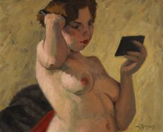 Young Woman Combing her Hair, 1932 by John Lyman on Curiator, the world's biggest collaborative art collection. Matisse, Digital Museum, Jay Bird, Collaborative Art, Canadian Artists, Figure Painting, Young Women, Her Hair, Artwork