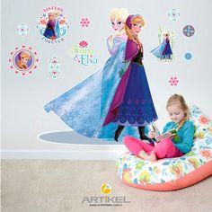 """""""Frozen-2"""" Dev Duvar Sticker, odaya girişinizde etkisini hissettirecek ve çocuk odanızın daha keyifli olmasını sağlayacaktır.."""