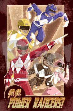 Power Rangers by jonpinto.deviantart.com on @deviantART
