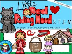 S.T.E.M. activities may seem daunting when teaching young children. This is a STEM activity that I created to go with the folk tale, Little Red Riding Hood.   I like to include literature (such as fairy tales and folk tales), and writing into my STEM activity so that I can incorporate it into my reading block if needed.