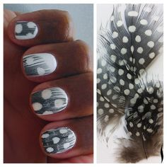 Free as a bird. Today's #ManiFriday is Ciate Feather Nails. See more on #BeautyTalk.