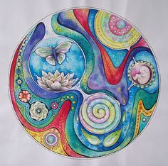 Cyclus van het leven, spreekt het je aan ...dan zal het je begeleiden op je pad wat leven heet. Vandeze mandala zijn prints( met of zonder lijst),kaarten, kalenders etc. te bestellen. klik op deze link : http://www.redbubble.com/people/fransiendevries/works/23664422-cirkel-van-het-leven-circle