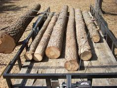 Parbuckling logs onto a standard flatbed trailer