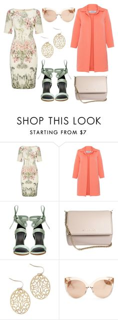"""spring mood"" by krisstyle717 on Polyvore featuring Adrianna Papell, D.Exterior, TIBI, Givenchy and Linda Farrow"