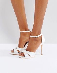 3a9c195399f7 Image 1 of True Decadence Cross Strap Heeled Sandals