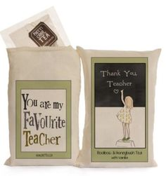 Gifts to show appreciation for a great teacher .
