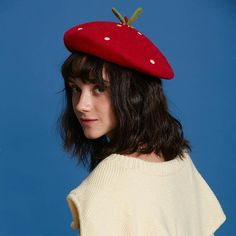 The Strawberry Beret — Kina & Tam