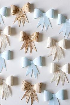 UKKONOOA: Paperirusetit / DIY Recycled Paper Bows