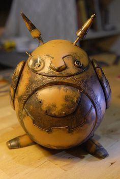 Steampunk Totoro < I'm not sure that you'd beleive me, but I would seriously BUY THIS!!