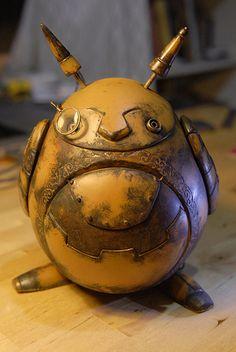 Steampunk Tendencies | Steampunk Totoro www.steampunktendencies.com