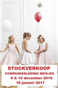 Stockverkoop feest-& communiekleding meisjes -- Tessenderlo -- 09/12-18/01