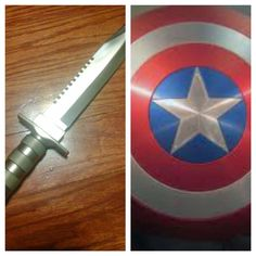 Would u rather have an adamantium knife or captain America's shield?
