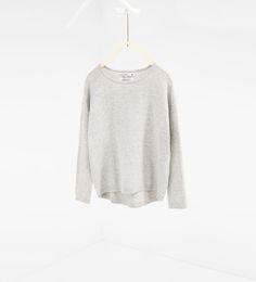 Basic trui met rits - In meer kleuren beschikbaar