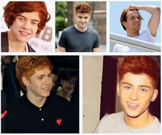 AHHH! I'm so obsessed with gingers. I love this way more than I should. #GINGERDIRECTION