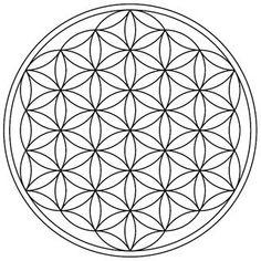 Flower of Life Tattoo design