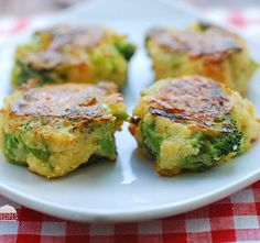 Cheesy Broccoli Bites Recipe on Yummly