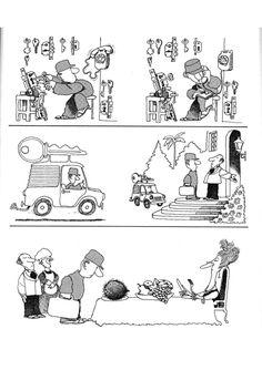 Everything & Nothing: Quino - La aventura de comer (The Adventure of Eating) Everything And Nothing, Funny Pictures, Funny Pics, Peanuts Comics, Memes, Words, Adventure, Jokes, Humor