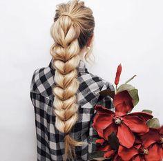 Thick inverted braid by Kassandra Poleshuk