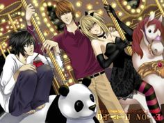 L, Light, and Misa •