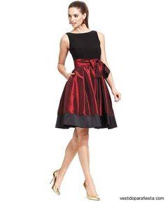Vestidos cortos de coctel con vuelo moda 2015 - https://vestidoparafiesta.com/vestidos-cortos-de-coctel-con-vuelo-moda-2015/