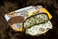 Handmade Patchwork cotton clutch with antique by VisionDancer, $25.00