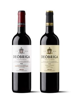 Deóbriga, packaging de Selección Familiar y Coleción Privada