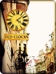 old clocks!