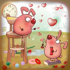 О чем говорят пузыри.. (Рисунки и иллюстрации) - фри-лансер Larisa Strelkova [loris].