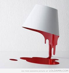 Awesome liquid lamp...