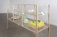 Glass Blown Cabinets by Studio Thier&VanDaalen | A R T N A U