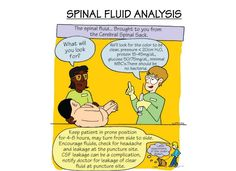 Spinal Fluid Analysis #NCLEX #NclexReview #Nursing