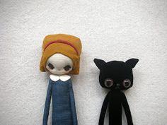Evangelione: Mary has a little black velvet cat